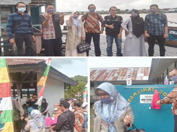Serah terima pekerjaan Desa Reguler APBN Program Pamsimas III Tahun Anggaran 2020 di Desa Jongkong Kiri Hulu, Desa Lauk, Desa Beringin dan Desa Kandung Suri
